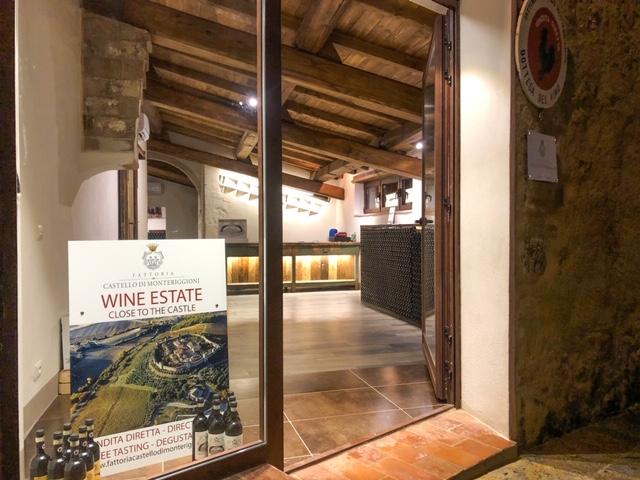 Enoteca Monteriggioni - Fattoria Castello di Monteriggioni