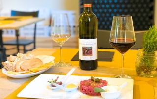 Tartare di Manzo - Fattoria Castello di Monteriggioni