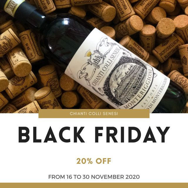 Black Friday & Cyber Monday - Chianti Colli Senesi