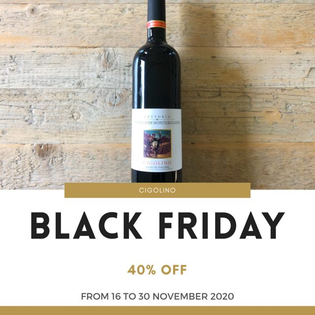 Black Friday & Cyber Monday - Cigolino