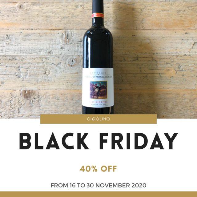 Black Friday & Cyber Monday - Cigolino