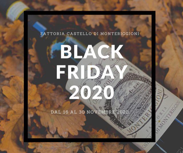 Black Friday & Cyber Monday - Fattoria Castello di Monteriggioni