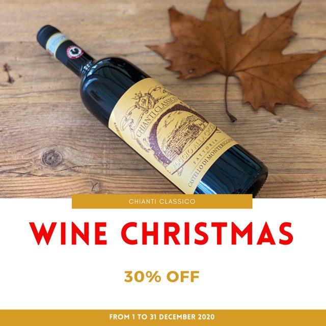Wine Christmas - Promozione Natale - Sconti